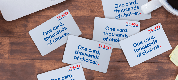 tesco card image